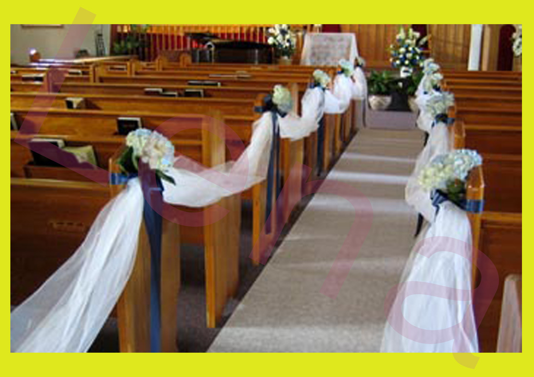 Church corridor decoration wedding plans nicosia cyprus 1 church corridor decoration junglespirit Image collections
